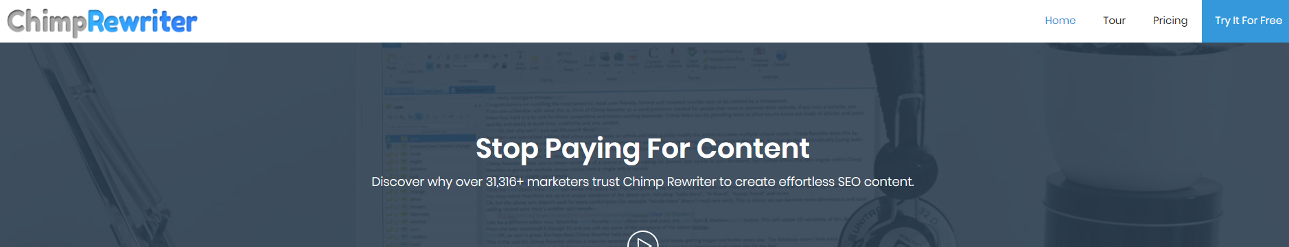 Chimp Rewriter The Best Article Rewriter and Spinner Software Indiaoncloud.com