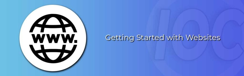 Blog Banner Build a website