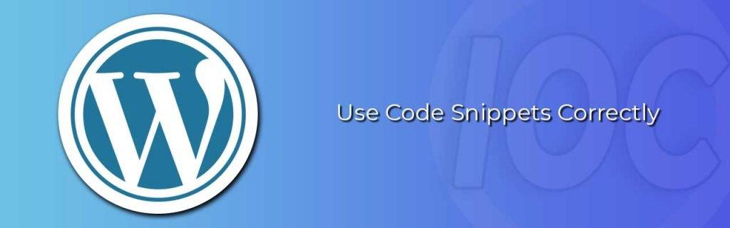 IOC setting code snippets