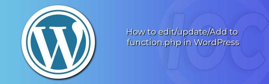 IOC update function php wordpress